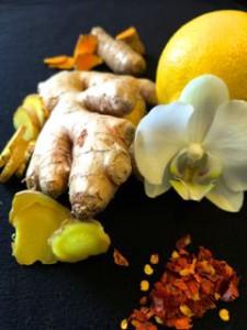 Elixir gingembre et curcuma pour notre bien être